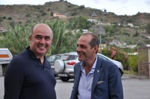 Angelo Sidoti con il sindaco Marco Giorgianni