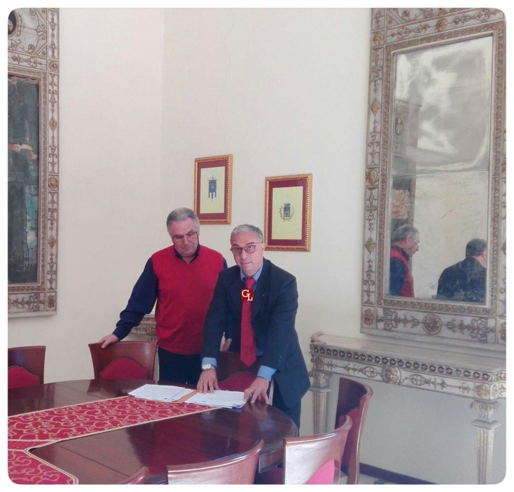 Roberto Marturano con il vicesegretario Famularo