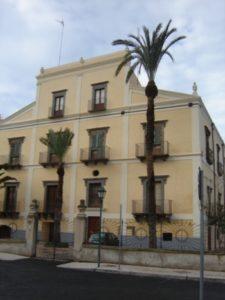 il Palazzo vescovile ancorta in attesa di diventare Museo Diocesano