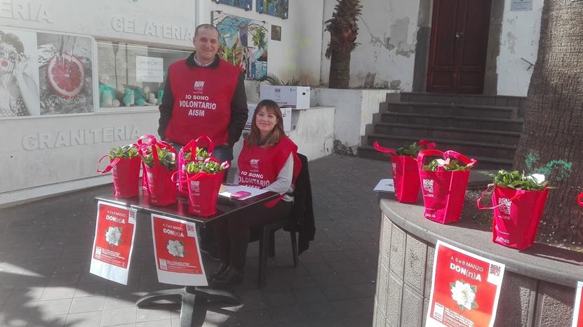 I coniugi volontari Aism Giacomo e Mariella Biviano