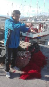 pesca reti distrutte