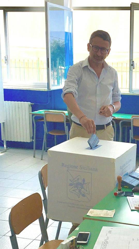 Il candidato Ciccio Rizzo