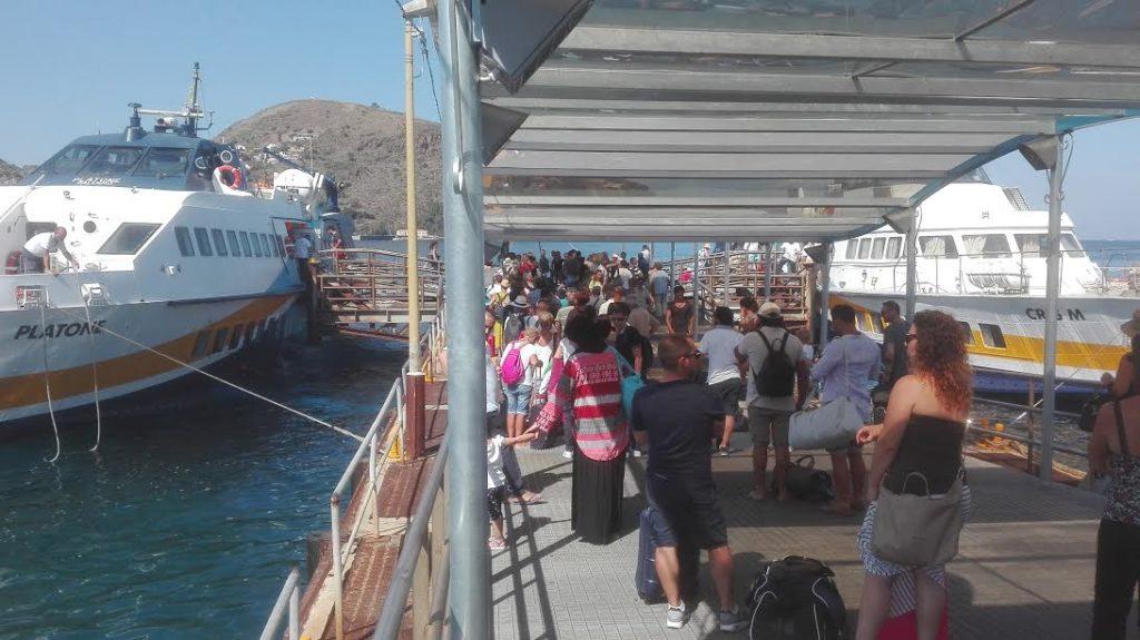 turisti e aliscafi