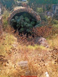 l'ipogeo funerario nei pressi del palasport