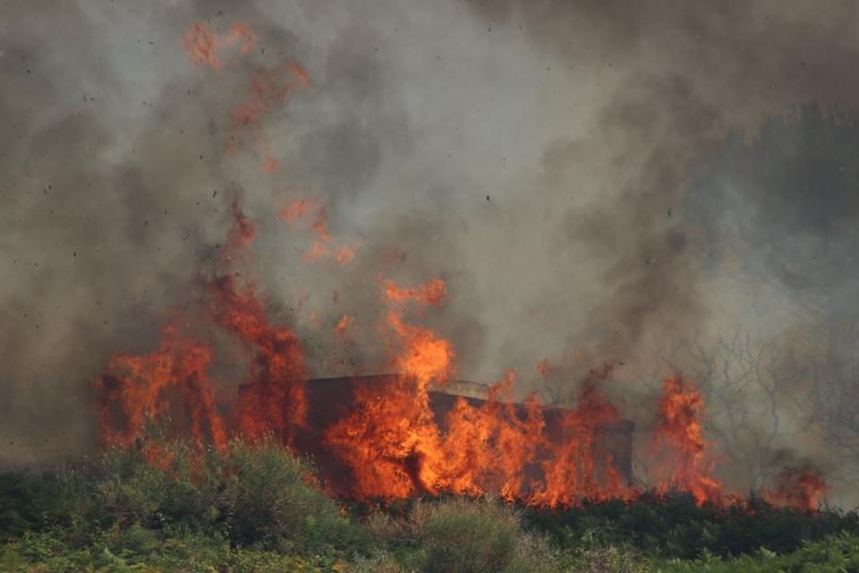 foto incendio gabriele costanzo