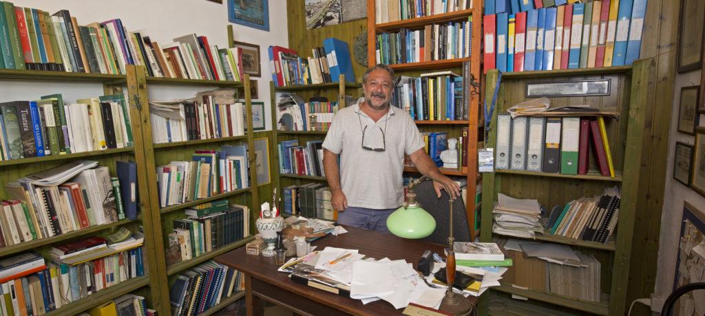 Sicile; Iles Eoliennes; ile de Lipari; Pietro Lo Cascio; association Nesos