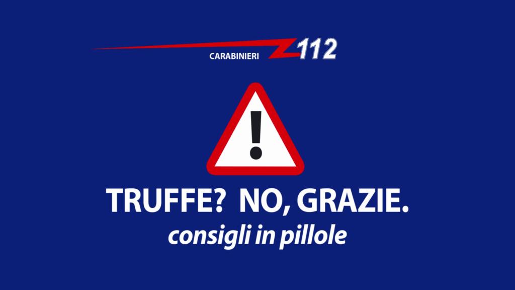 Foto Spot Carabinieri contro le truffe 2