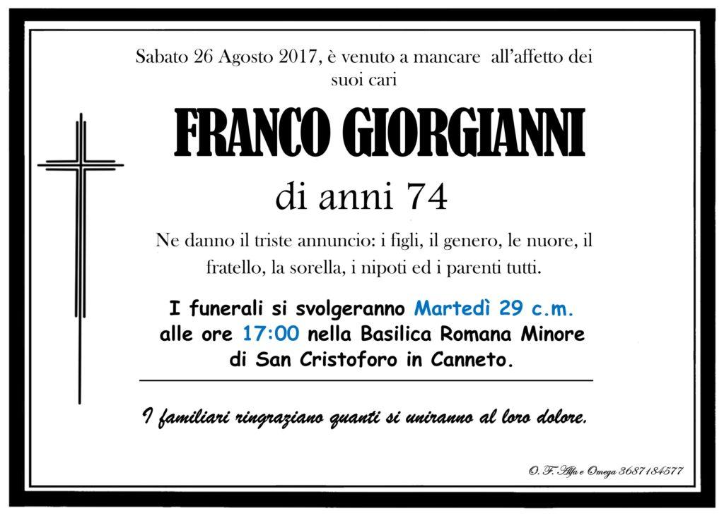 Giorgianni Franco