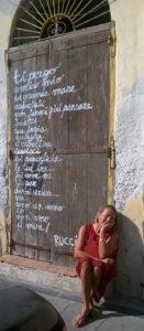 Silvia Carbone ideatrice dell'iniziativa con Michele Ballamy Postiglione