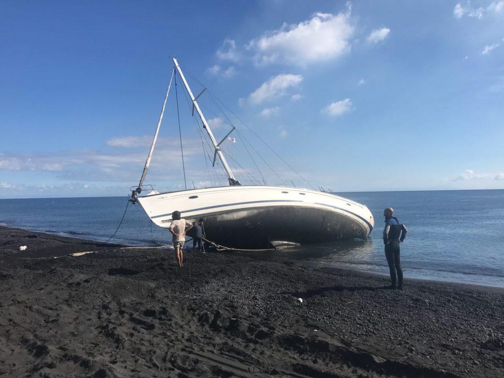barca a vela stromboli