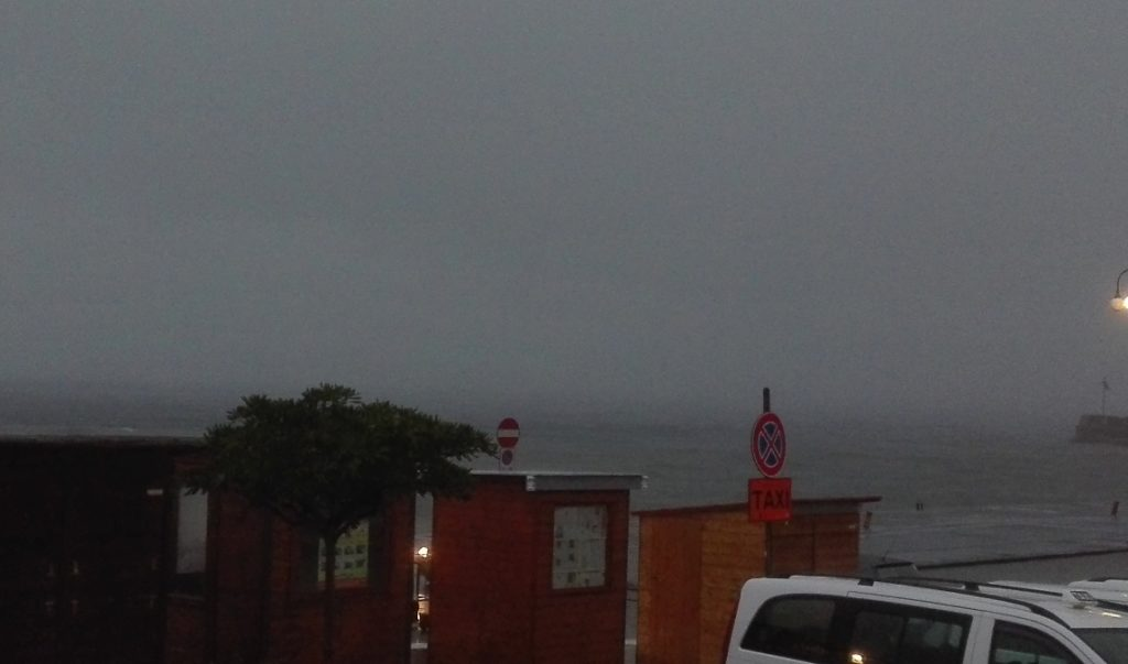 difficolta in mare per la scarsa visibilità