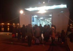 Un centinaio di eoliani bloccati a Milazzo nel pomeriggio e di rientro alle 18,30 con la nave