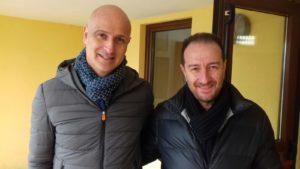 il direttore Amministrativo SSR Paolo Magaudda e il direttore sanitario Antonio Epifanio