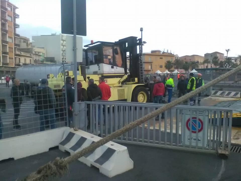 protesta portuali 2