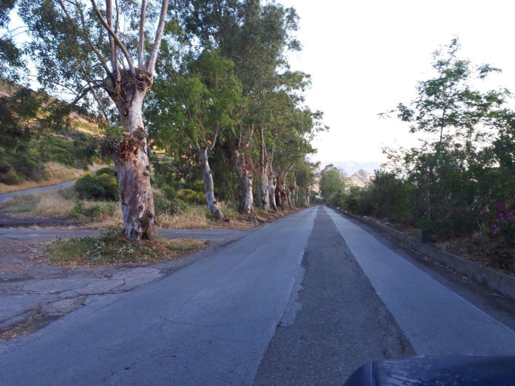 vulcano pulizia strade
