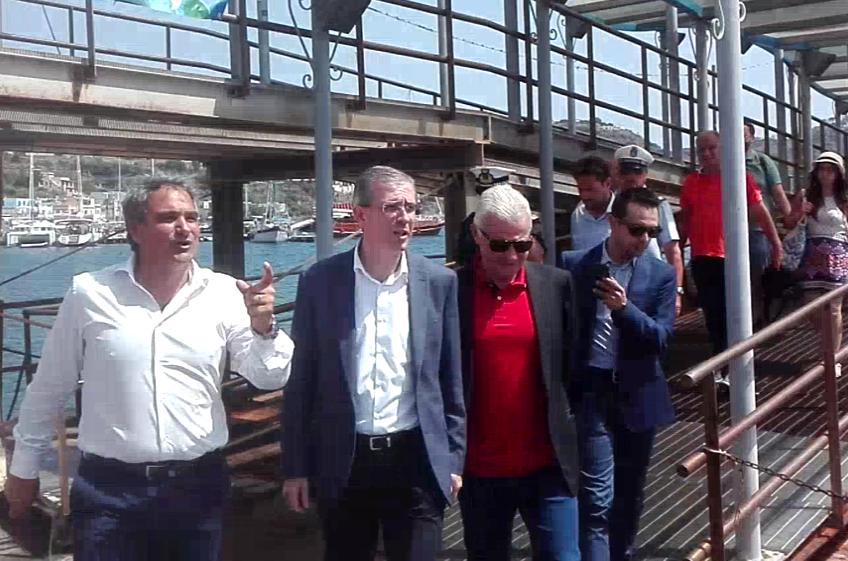 Bandi trasporti marittimi : l'assessore Falcone martedì a Lipari