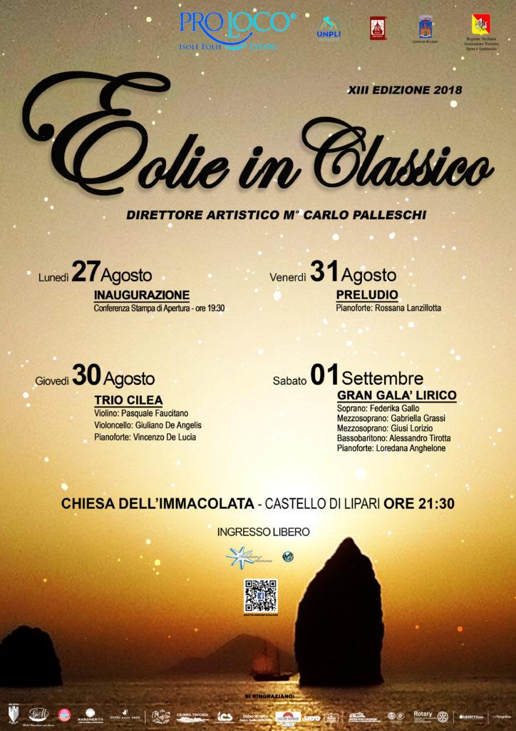 locandina eolie in classico 2018 - Copia