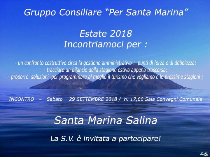 Invito incontro sabato 29 settembre