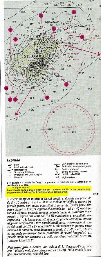stromboli cartina