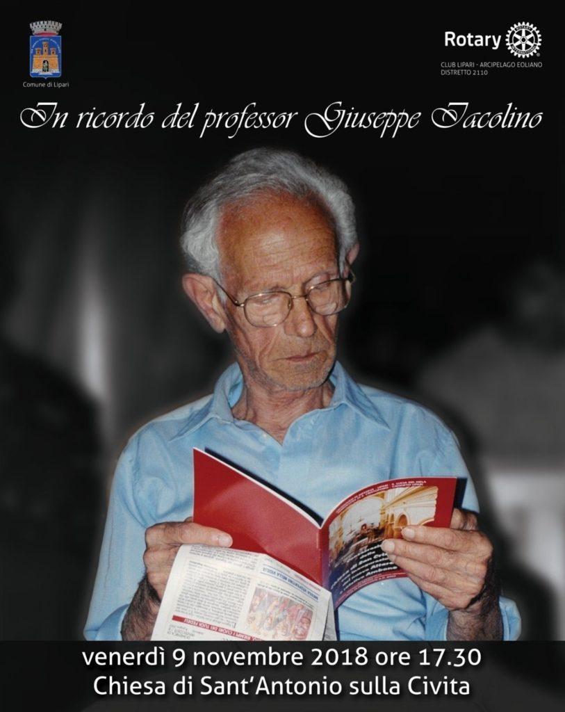 Manifesto Ricordo Prof. Iacolino
