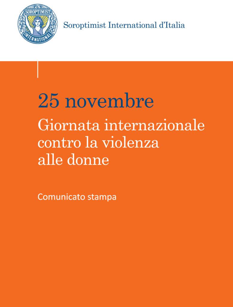 Soroptimist_Comunicato_25_Nov_3 pagg-1