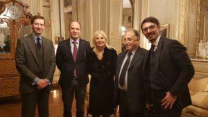 Le Eolie a Parigi_Vacanti Penco_Christian Del Bono_teresa Castaldo_Luigi Amato_Dario Biondo