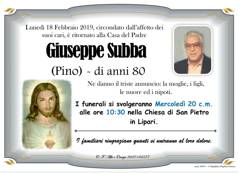 (Subba Giuseppe)