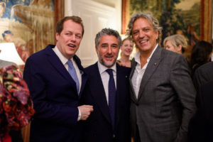 """Reception hosted by the Ambassador of Italy for the presentation of """"Cavaliere"""" of the Order of Merit of the Italian Republic to  Luca Del Bono at the Italian Embassy on Monday, 25 February 2019"""
