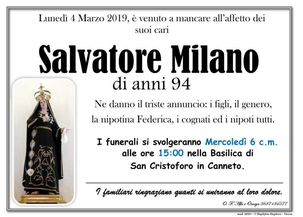 Mad. Addolorata (Canneto) no foto (Milano Salvatore)