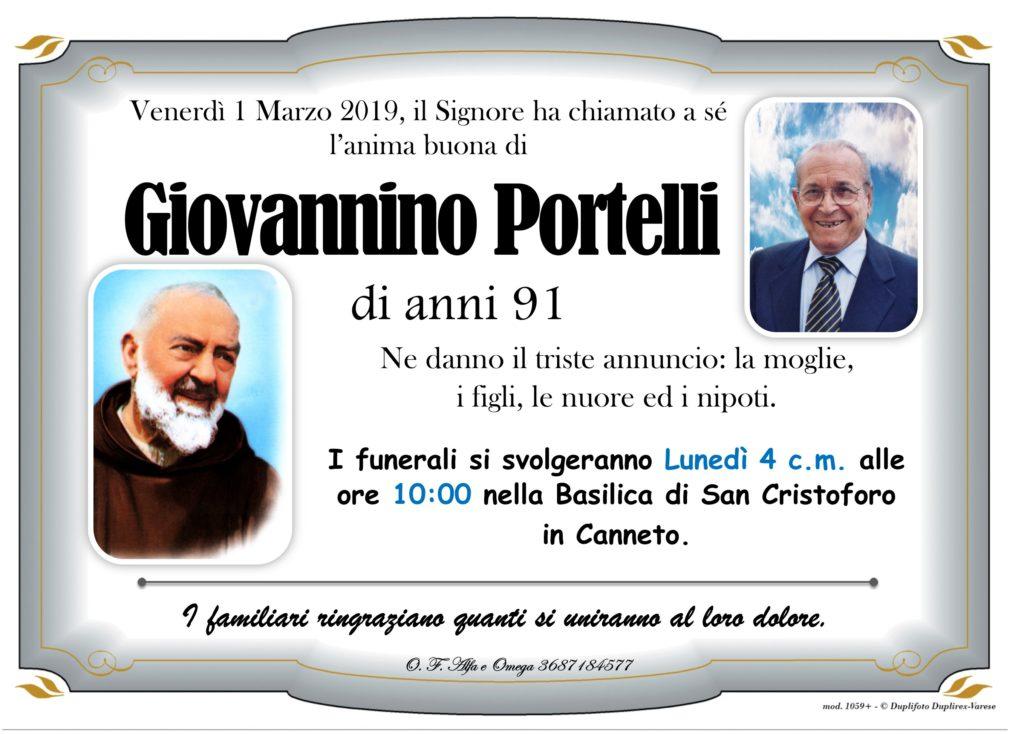 manifesto con foto (Portelli Giovannino)