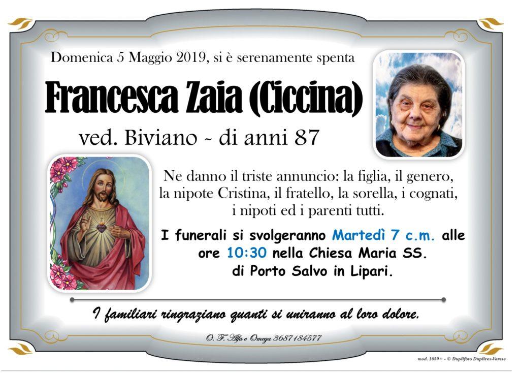 20 - A con foto (Zaia Francesca ved. Biviano)
