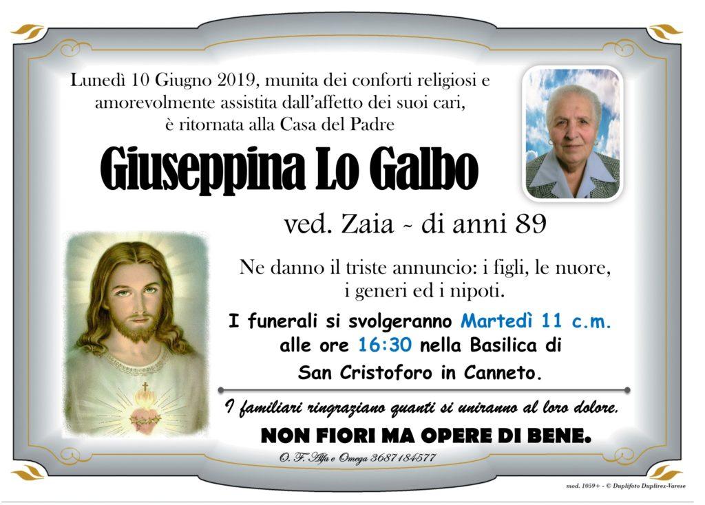 22 - A con foto (Lo Galbo Giuseppina ved. Zaia)