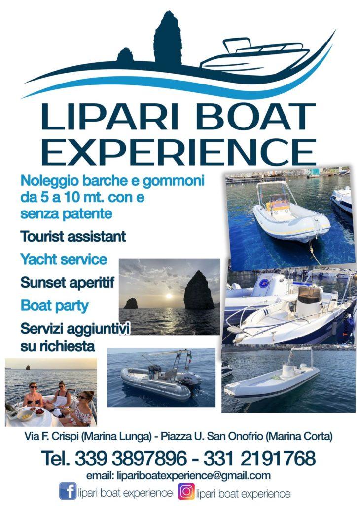 lipari boat experience