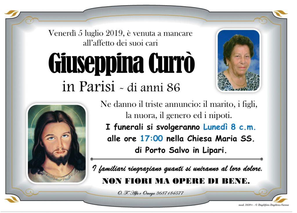 20 - B con foto (Currò Giuseppina in Parisi)
