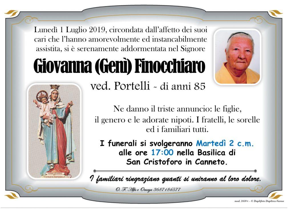 25 - A con foto (Finocchiaro Giovanna ved Portelli)