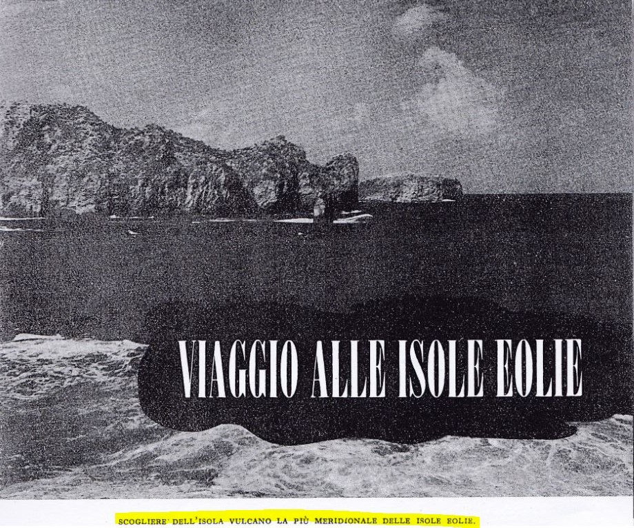 viaggio alle isole eolie
