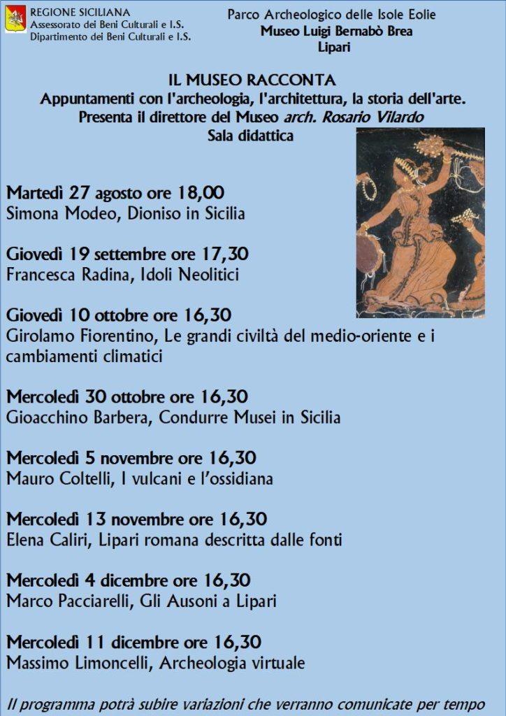 01 MUSEO locandina programma