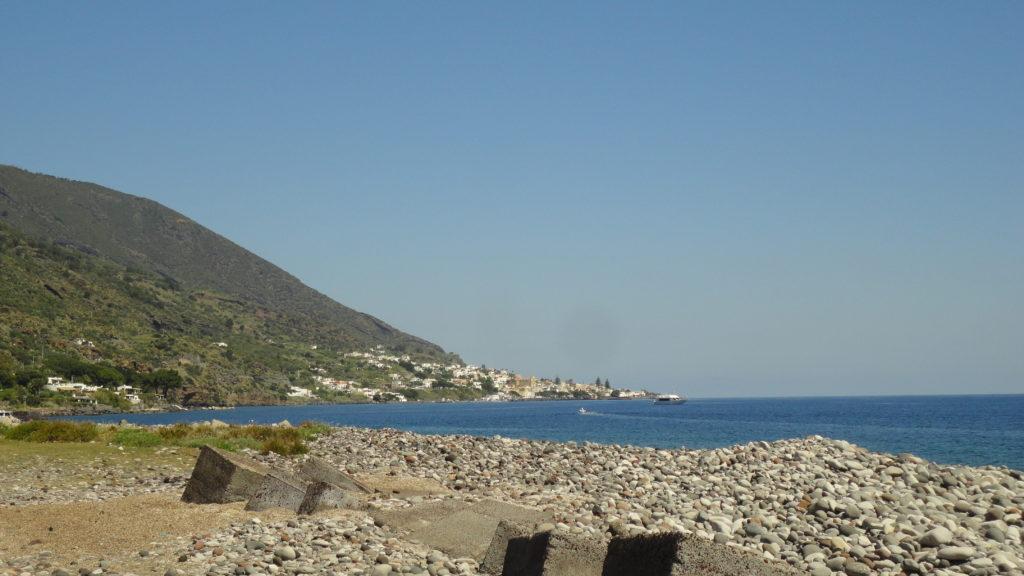 Santa Marina Salina vista da Lingua