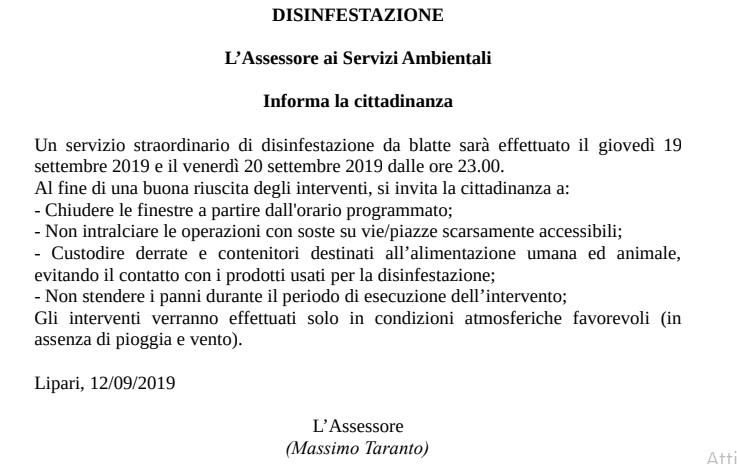 disinf 1
