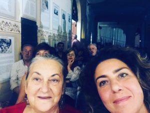 Il sindaco Clara Rametta e Loredana Salzano
