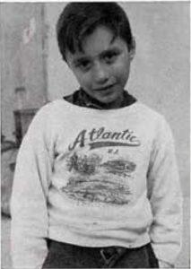 Giorgio Silvestri, 9 anni, suonatore di contrabasso