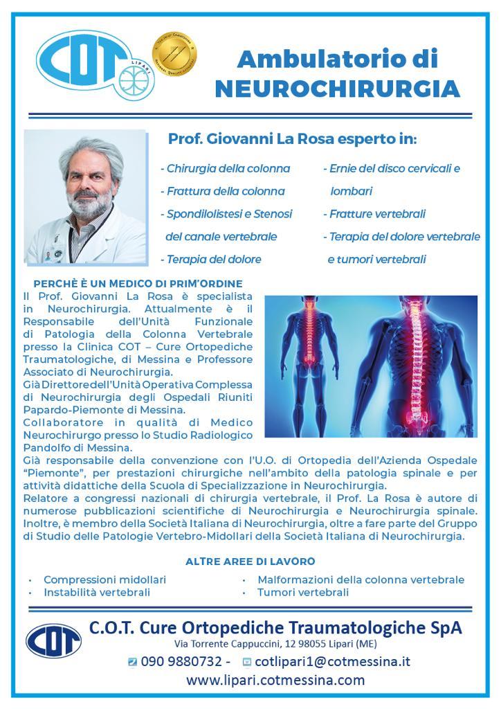 COT Lipari : visite ambulatoriali di gennaio 7