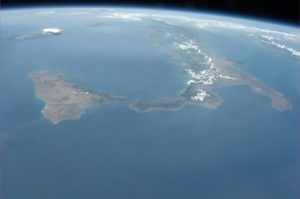 foto dallo spazio di Luca Parmitano