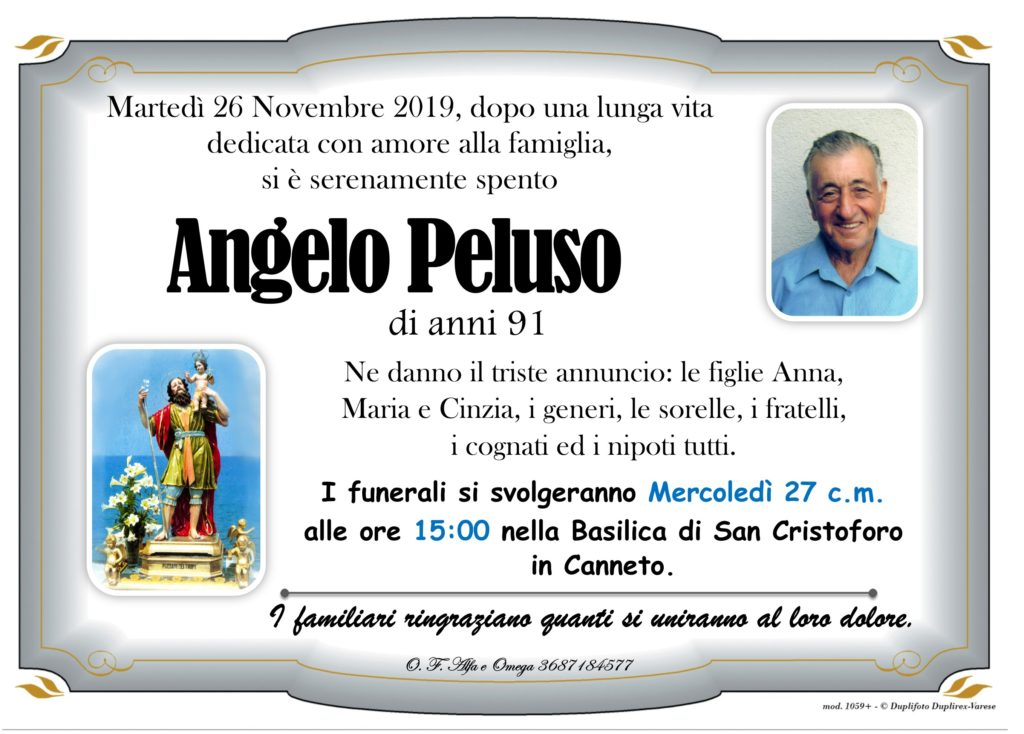 33 - B con foto (Peluso Angelo)
