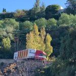 camion bloccato provinciale
