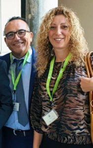 Gesuele Fonti ed Eliana Mollica del gruppo Moderati per Calderone