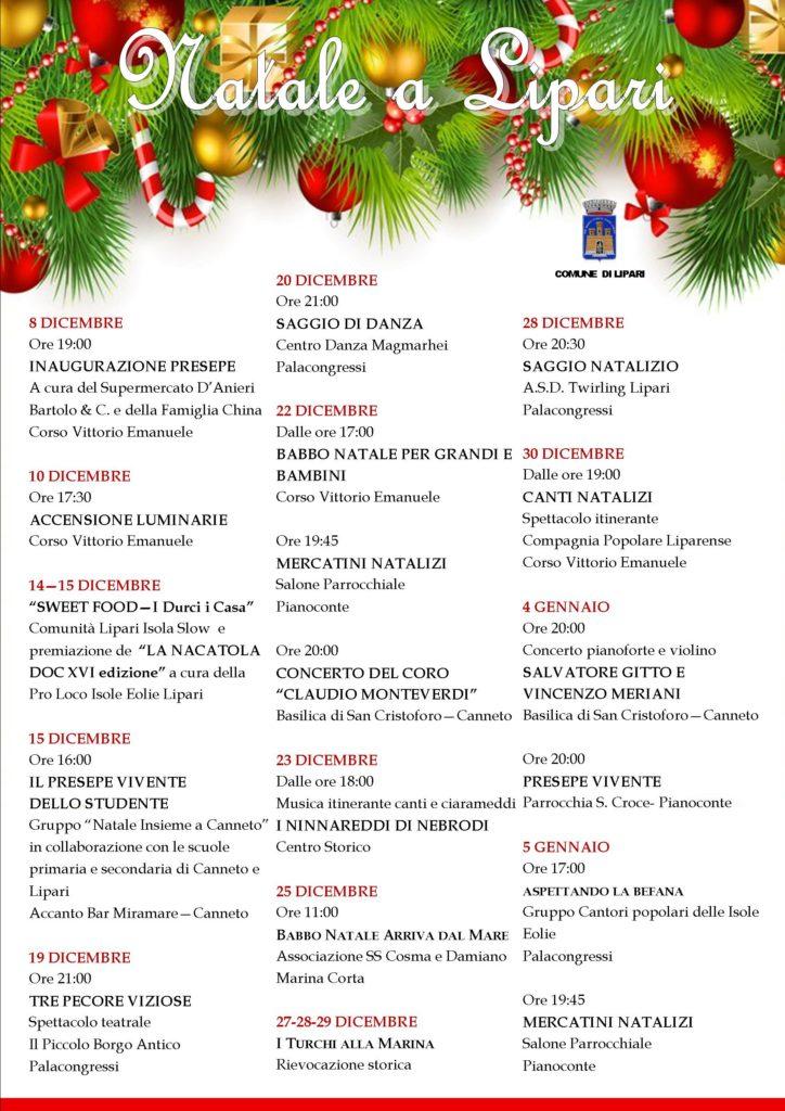 Calendario di Natale 2019-20