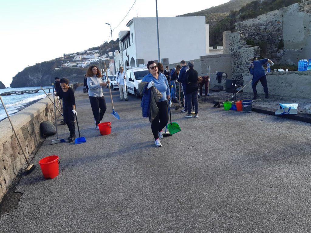 Acquacalda : volontari in azione 3