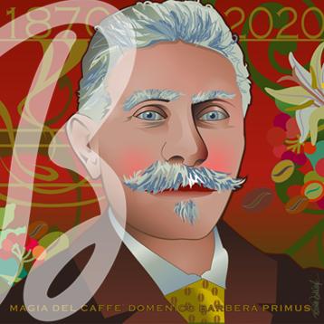 La copertina del calendario Caffè Barbera 2020