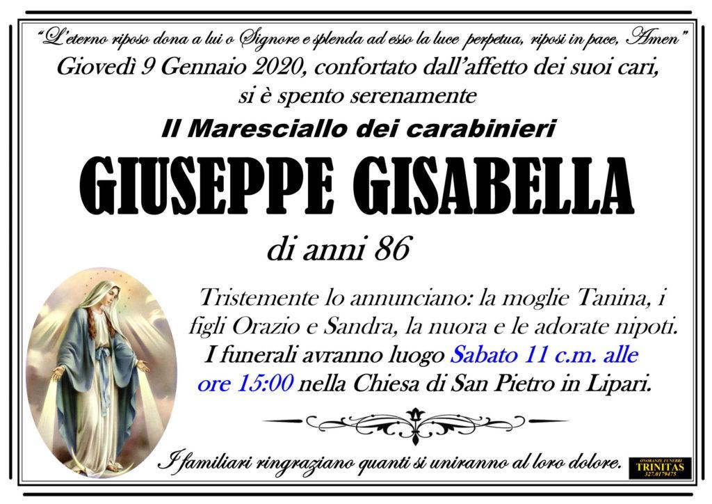 E' morto il M.llo Giuseppe Gisabella 1